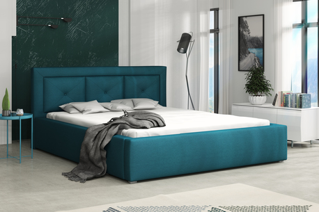 Łóżko tapicerowane Modern (1)