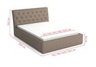 Łóżko tapicerowane Pik (4)