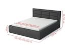 Łóżko tapicerowane Classic (4)