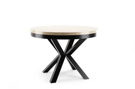 Stół okrągły Oslo (rozkładany)  (1)