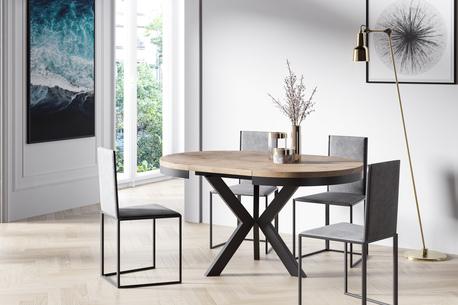 Stół okrągł Renee (rozkładany)  (1)