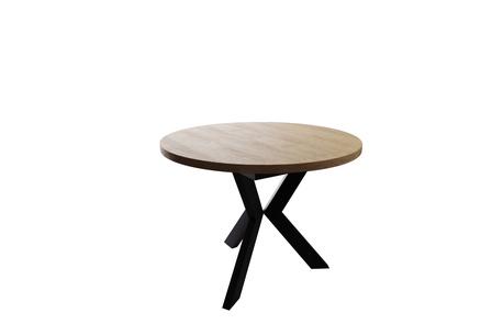 Stół okrągły AGNE (rozkładany) Hikora (1)