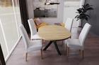 Stół okrągły AGNE (rozkładany) Hikora (3)