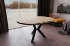 Stół okrągły AGNE (rozkładany) Hikora (5)