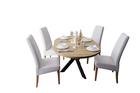 Stół okrągły AGNE (rozkładany) Hikora (8)