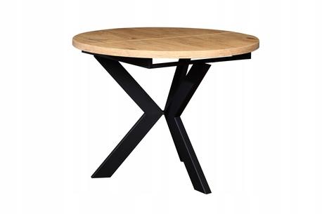 Stół okrągły AGNE (rozkładany) (1)