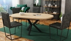 Stół okrągły AGNE (rozkładany) (2)