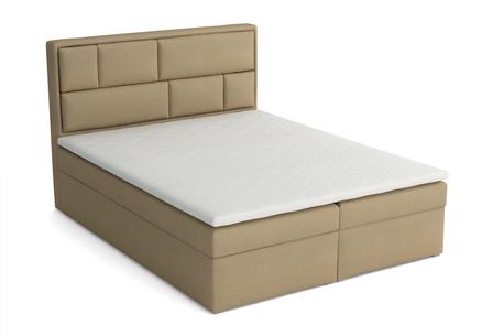 Łóżko kontynentalne Decor Box z pojemnikiem (1)