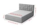 Łóżko tapicerowane Malkolm  (4)